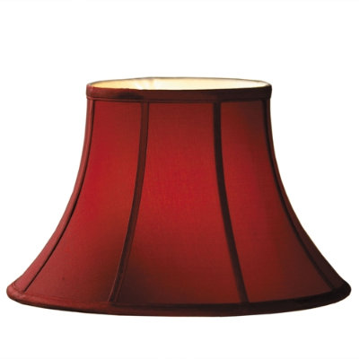 Ballard Red Silk Shade