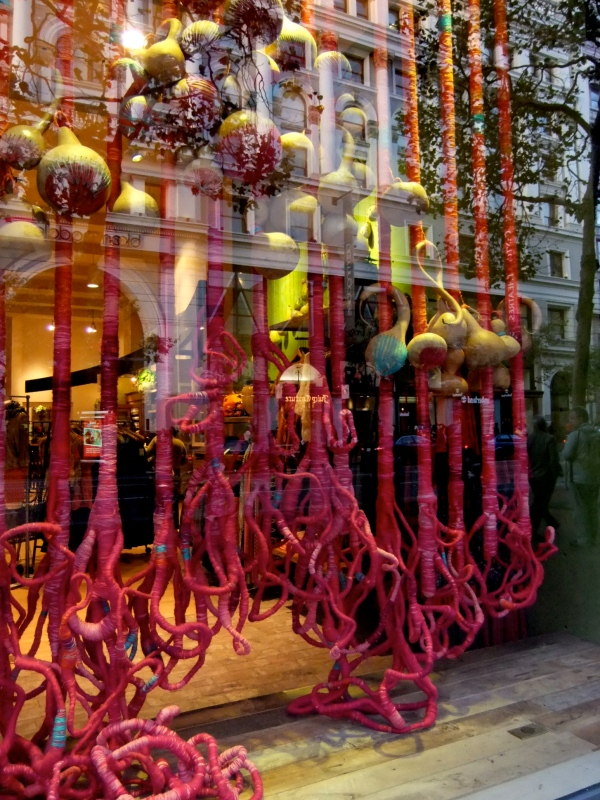 Anthropologie fall window 2011